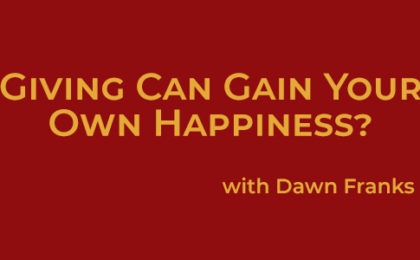 Gain Your Own Happiness - Joyce Buford