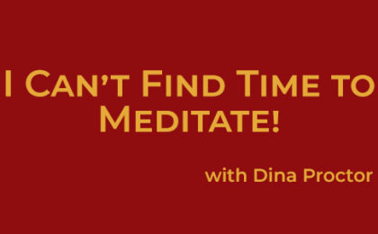 Time to Meditate - Joyce Buford