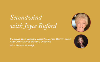 Confidence During Divorce - Joyce Buford