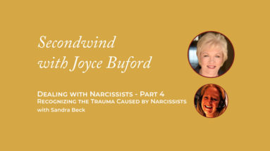 Trauma Caused by Narcissists - Joyce Buford