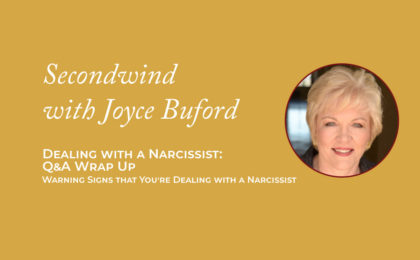 Dealing with a Narcissist - Joyce Buford