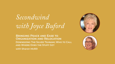 Organization and Relocation - Joyce Buford