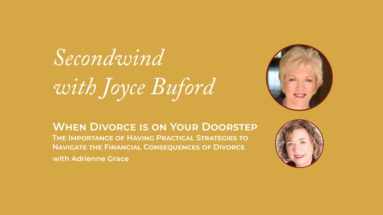 Financial Consequences of Divorce - Joyce Buford
